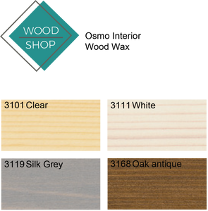 Osmo Finish Colours, Wood Shop