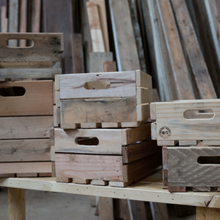 Load image into Gallery viewer, Wooden Crate Company Vancouver B.C, Wood Shop
