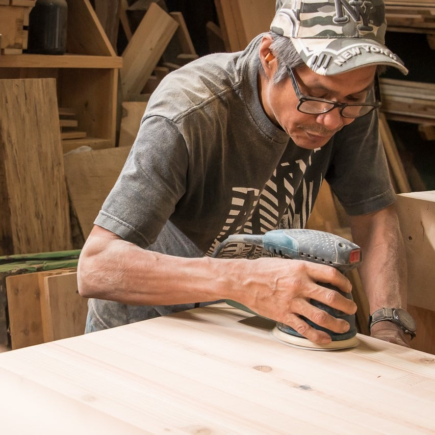 RONNIE Surfaces Lead and Co-Owner Wood Shop Workers Co-op