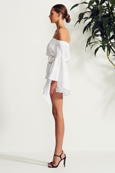 PALMA OFF THE SHOULDER MINI DRESS