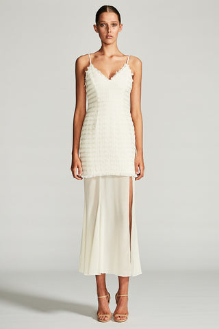 VENUS COCKTAIL MAXI DRESS - IVORY