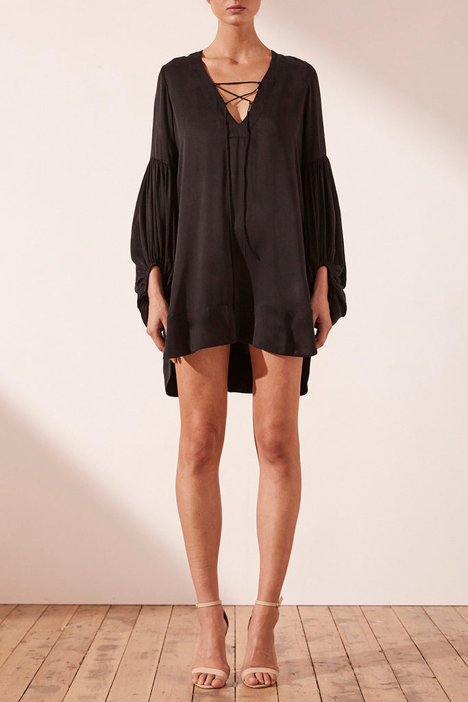 MATIAS BALLOON SLEEVE TUNIC