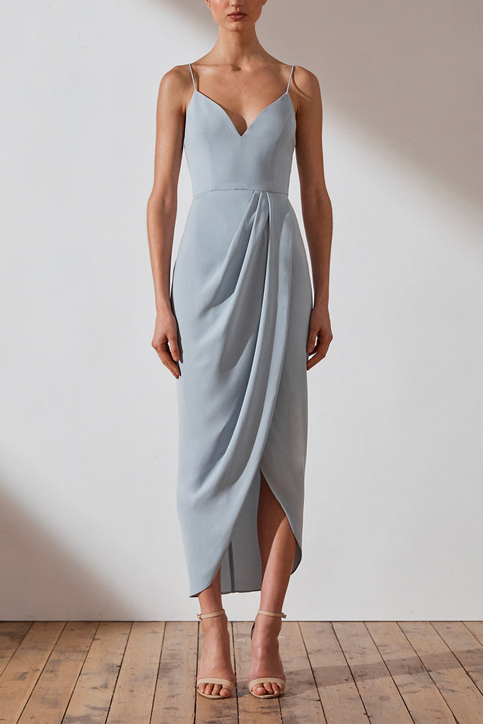 CORE COCKTAIL DRESS - POWDER BLUE