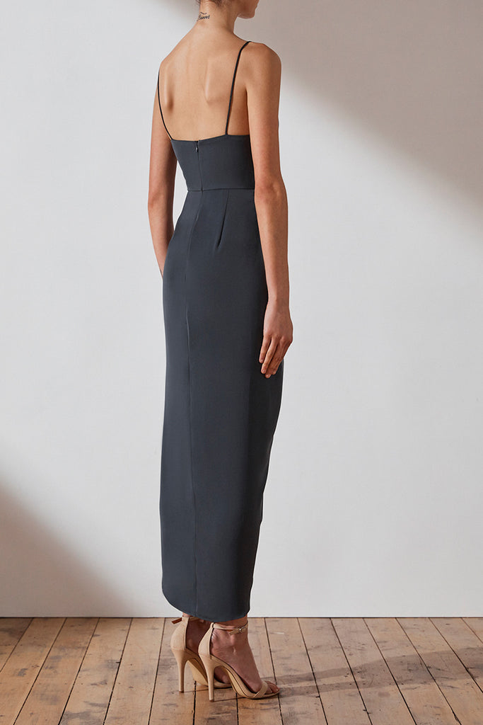 CORE COCKTAIL DRESS - CHARCOAL