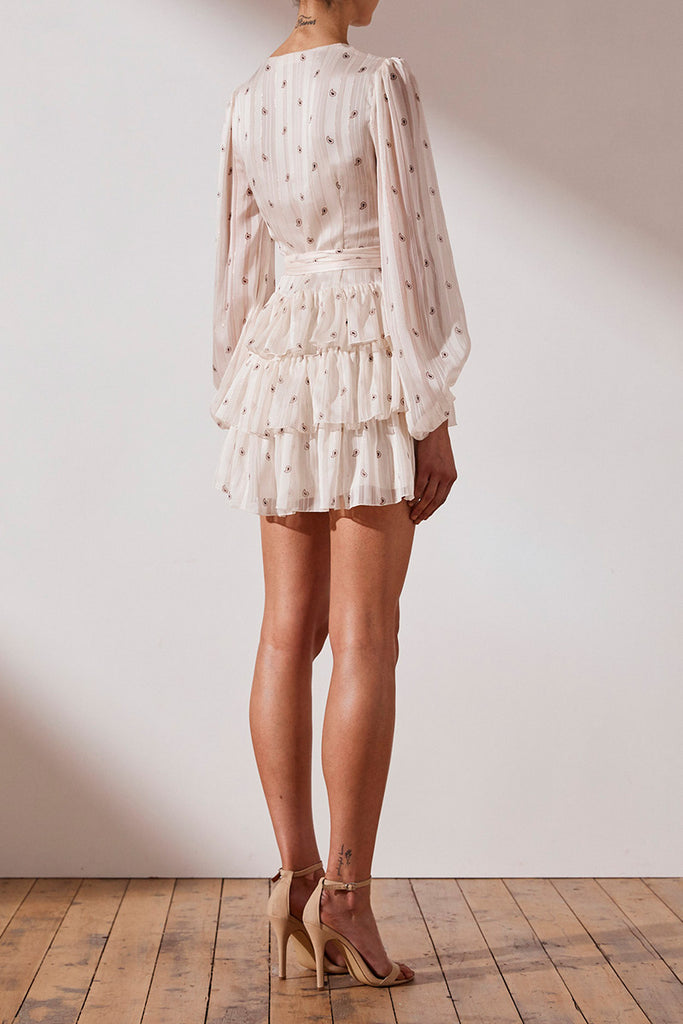 SEDGWICK TIERED MINI DRESS