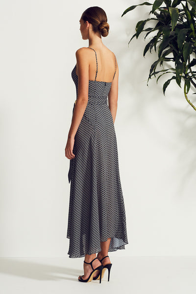 LA LUNA COCKTAIL MAXI WITH RINGS