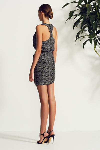 TESORO TWIST RACER MINI DRESS