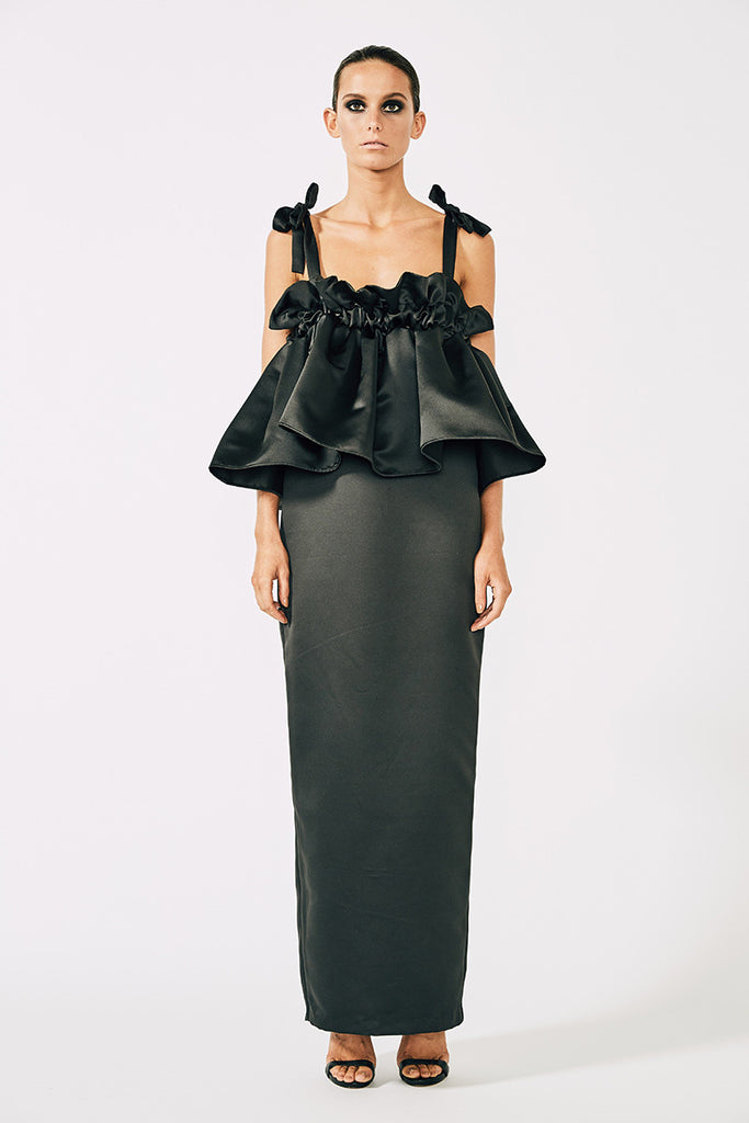 DIDIER RUCHED LAYERED MAXI - BLACK