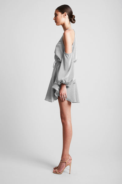 AURORA OPEN SHOULDER MINI DRESS