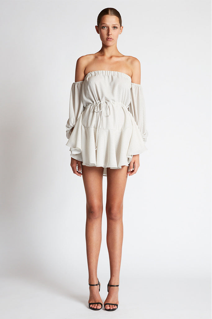 CATALINA OFF THE SHOULDER MINI DRESS