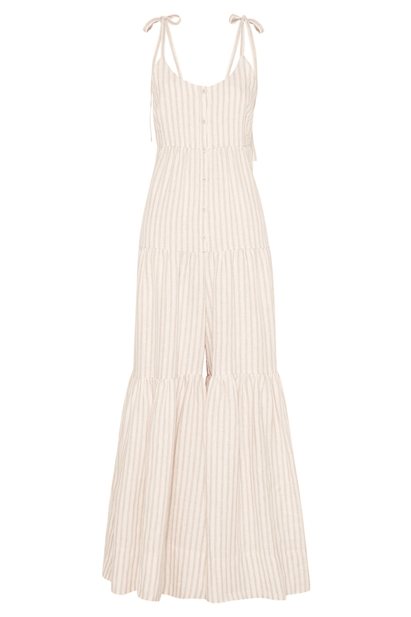 Shona Joy KENNEDY LINEN TIERED JUMPSUIT