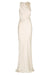 LA LUNE HIGH NECK MAXI DRESS - CREAM