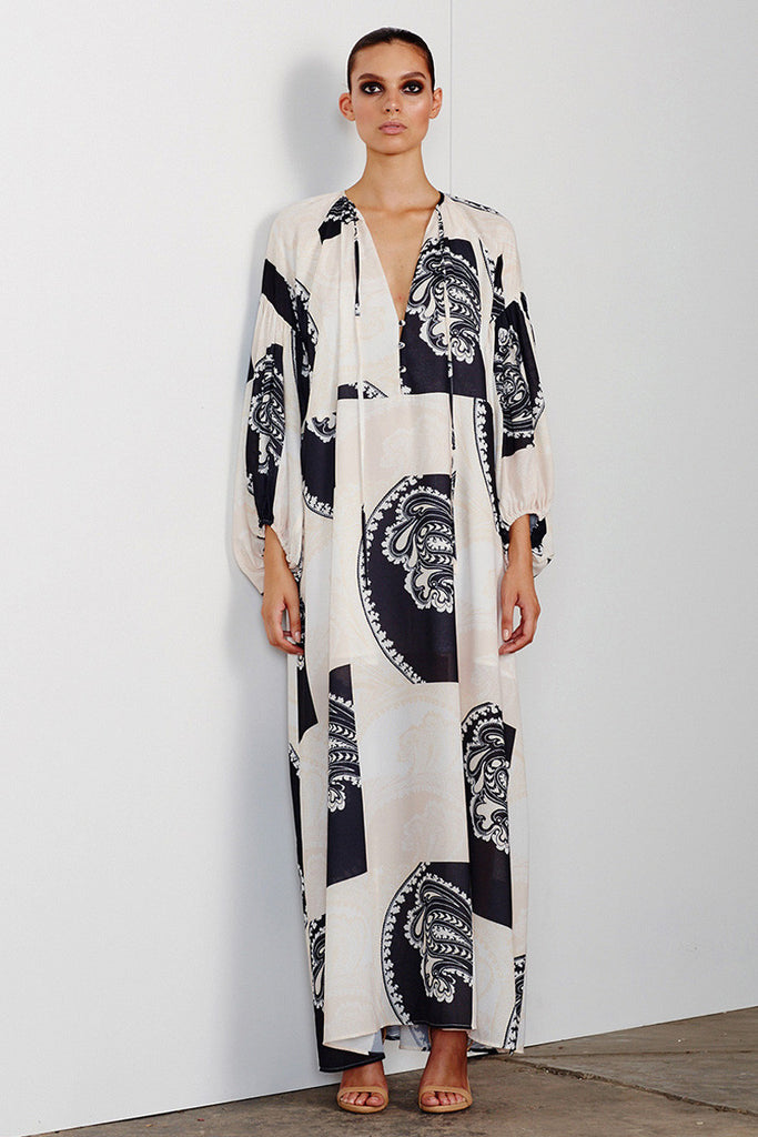 MANUELA PEASANT MAXI DRESS