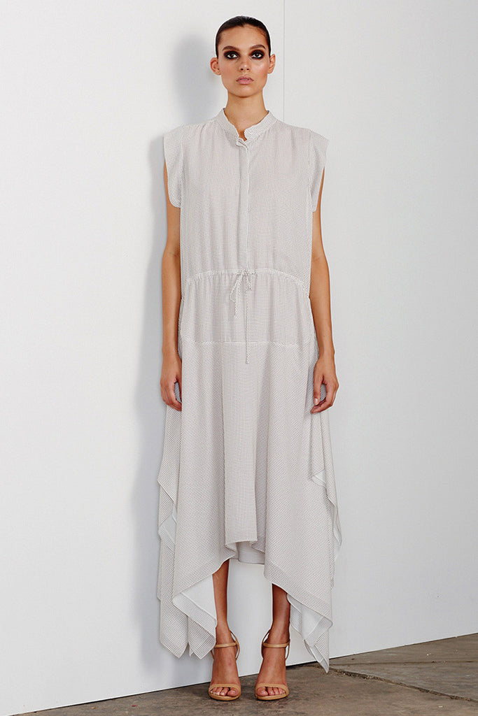 CATALINA DRAWSTRING SHIRT DRESS