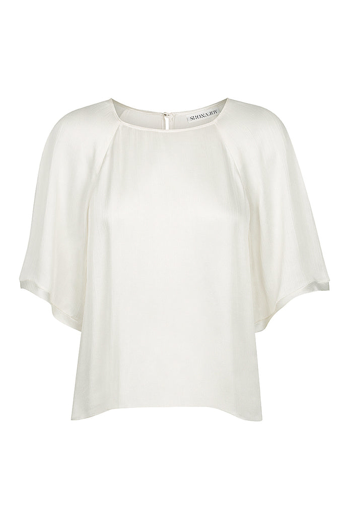 ELTON RELAXED TEE - IVORY