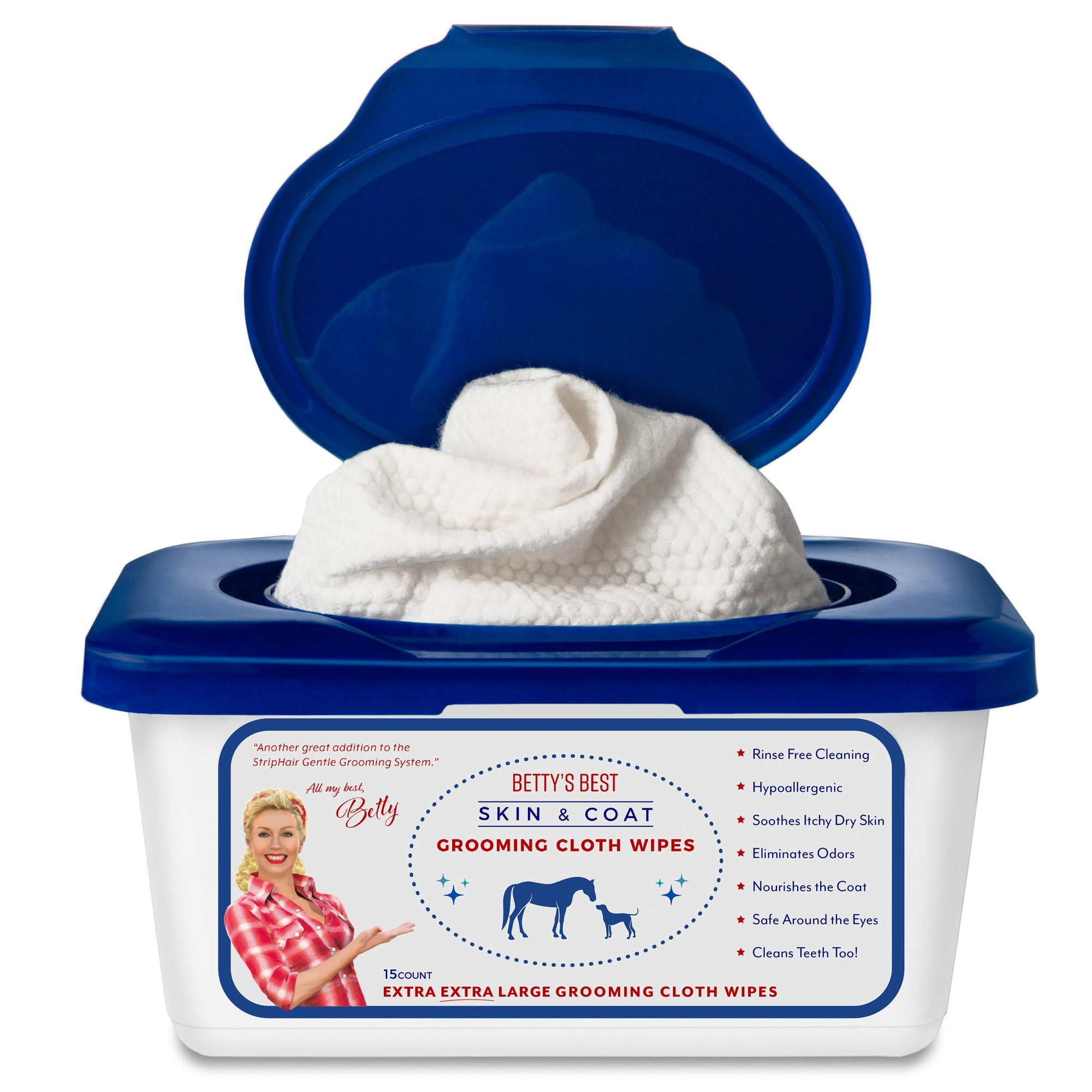Skin & Coat Cloth Wipes XXL