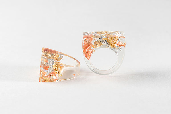 Bioresin Ring - Existence Ring - Mixed Foil