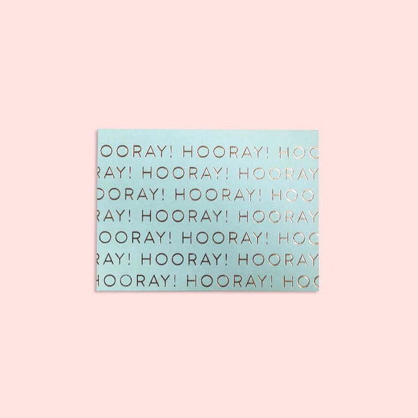 Card | Hooray