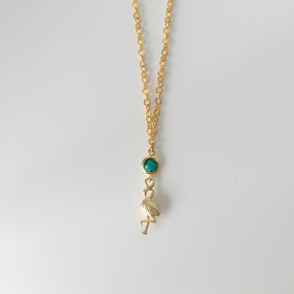Dulcetfig Faceted Collection - Flamingo Emerald