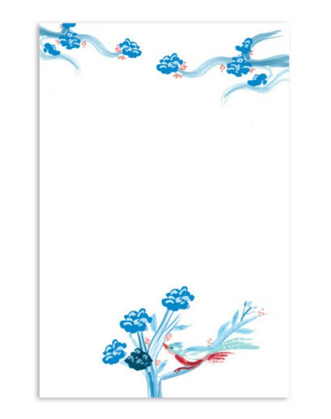 Notepad Blue China