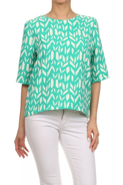 Green Geometric Top