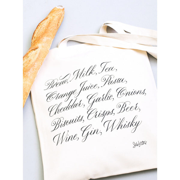 Tote Shopping List