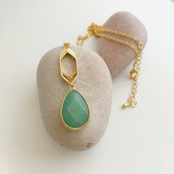 Dulcetfig Faceted Collection - Diamond Aventurine