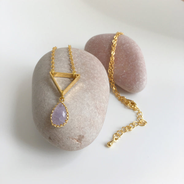 Dulcetfig Faceted Collection - Triangle Lilac