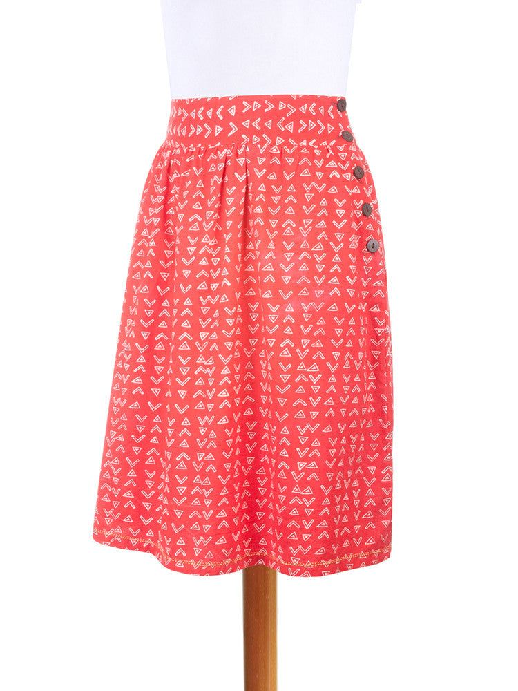Discovery Skirt Red