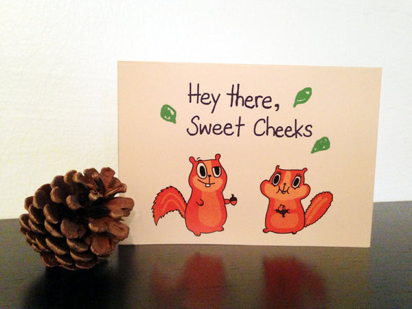 Card ~ Sweet Cheeks