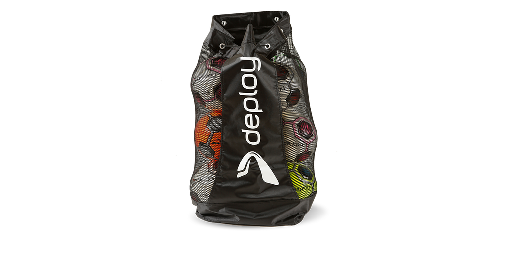 Deploy Football 16 Ball Carry Bag black