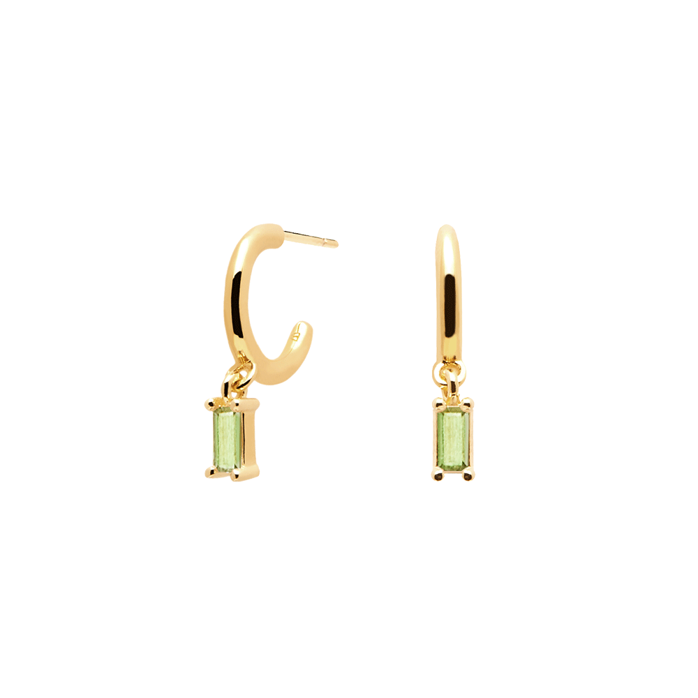 ALIA EARRINGS - APPLE GREEN