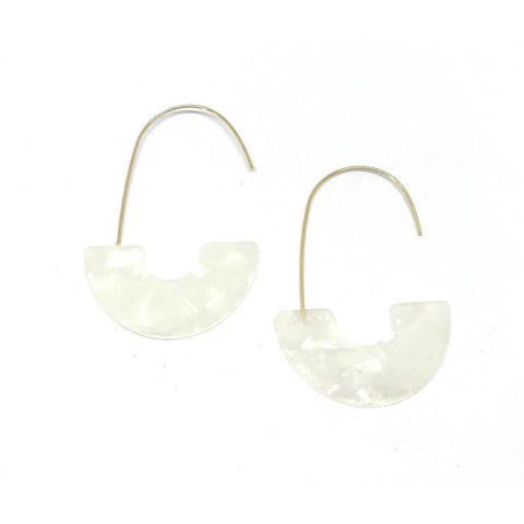 ZETA EARRINGS - BLANCA