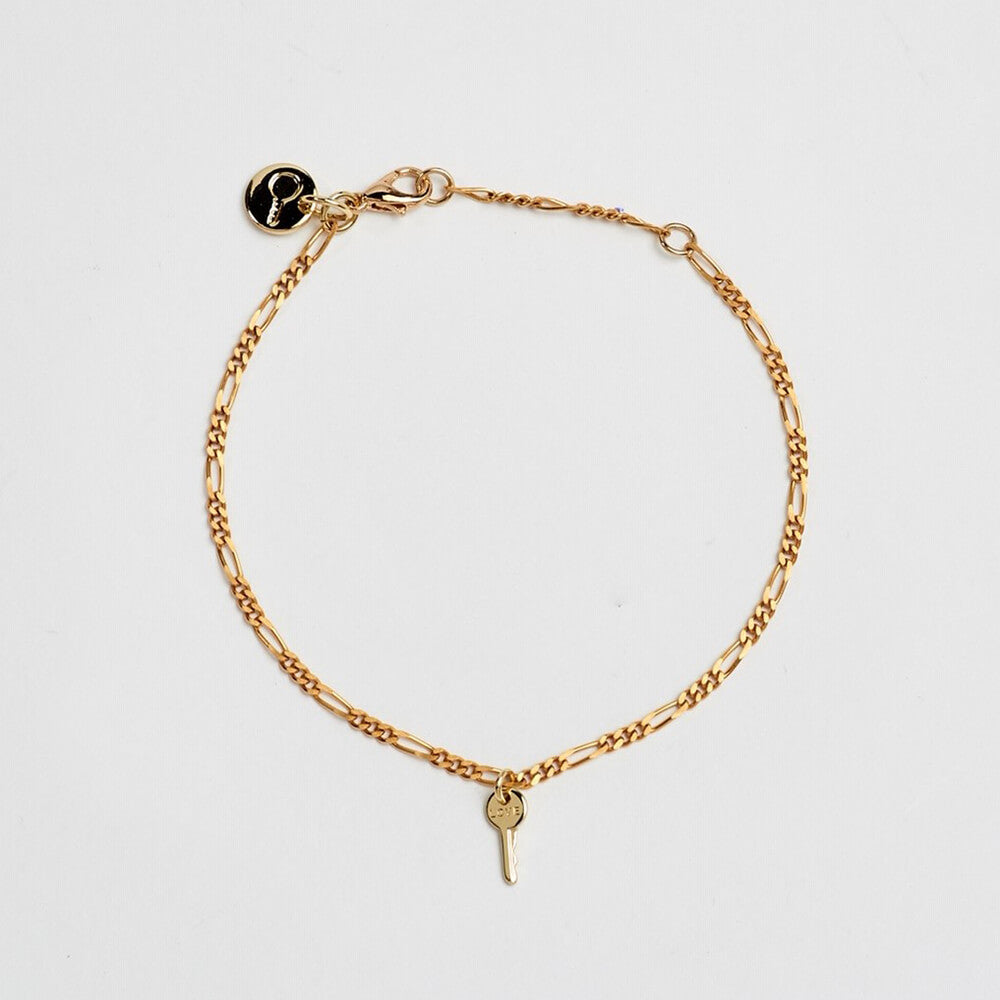 florence mini key bracelet love