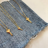 PETITE KEY NECKLACE