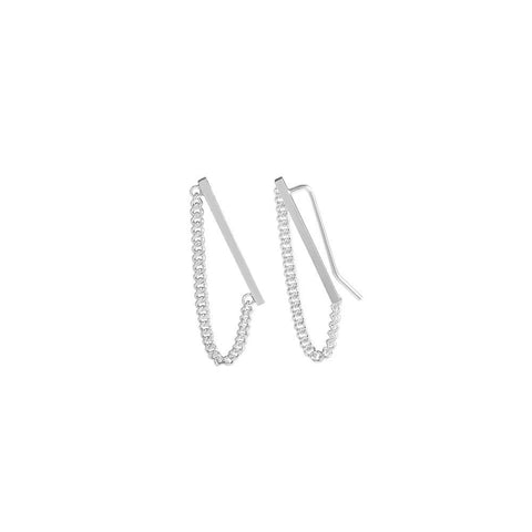 Earrings - CHAIN SLIDERS