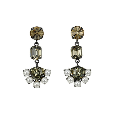Earrings - DANGLING CHANDELIER EARRINGS