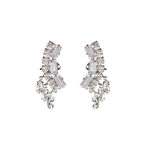 Earrings - DANGLING CRESCENT EAR CUFFS