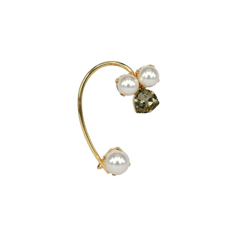 Earrings - PEARL EAR CUFF