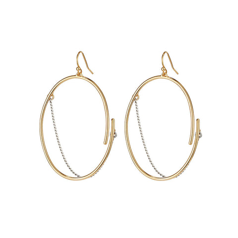 Earrings - RILL HOOPS