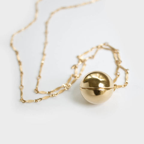 goldie locket necklace