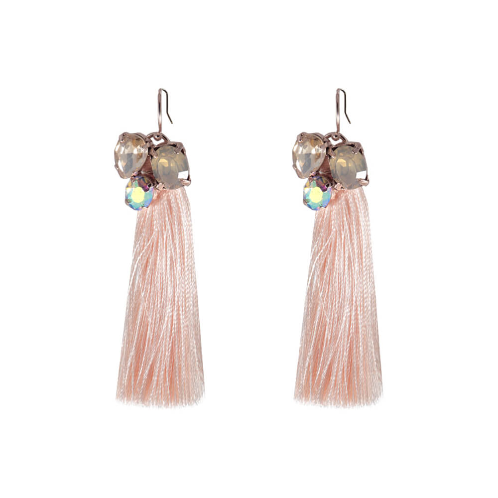 artemis tassel earrings