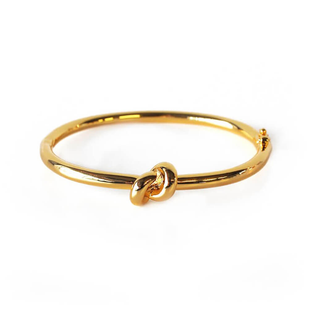 KNOT BANGLE - GOLD