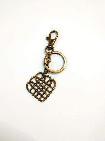 Mesh design Keychain Personalised