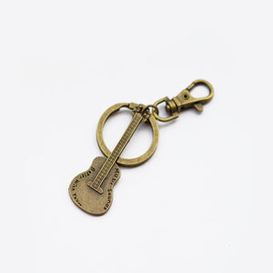 Guitar Keychain Personalised