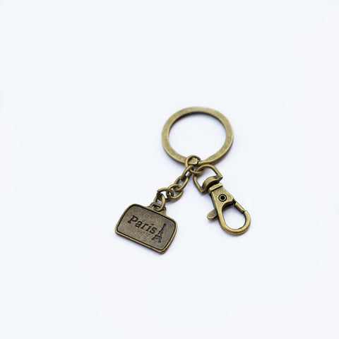 Briefcase Keychain Personalised