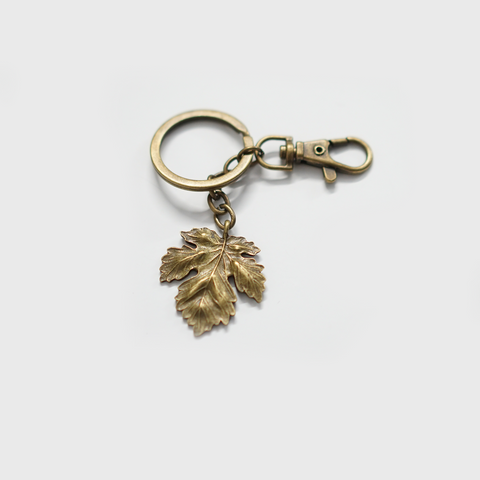 Maple leaf Keychain Personalised