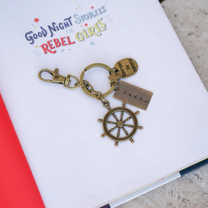 Helm / Remember the moments Personalised Keychain