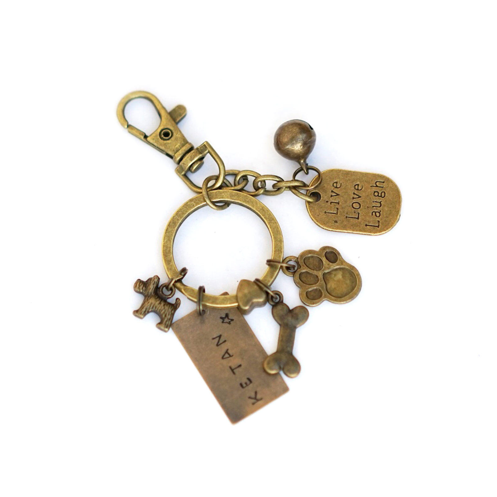 Dog lover Keychain Personalised