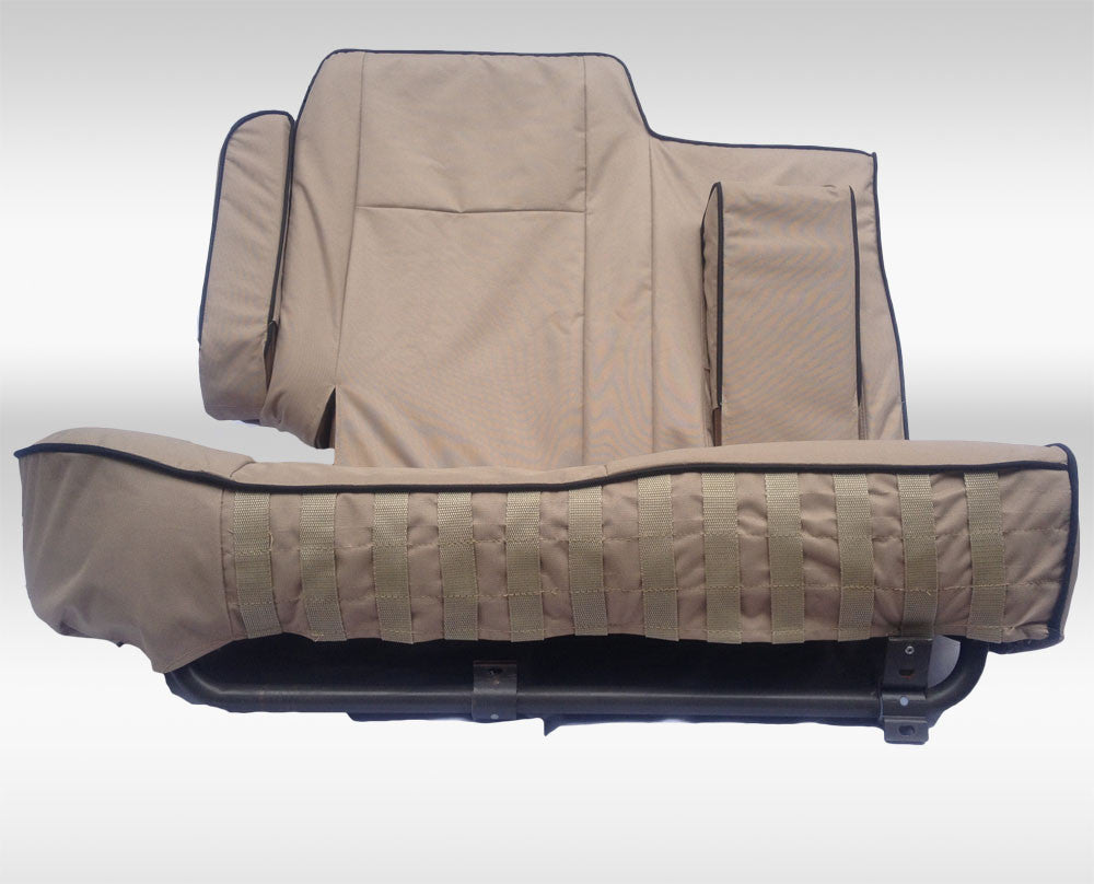 range rover classic rear seat covers knightsbridge overland. Black Bedroom Furniture Sets. Home Design Ideas
